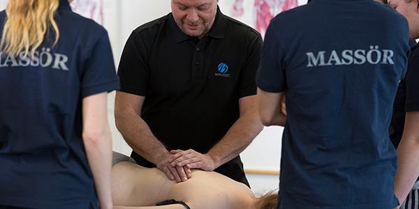 Yrkesutbildning till Massageterapeut hos Bergqvist
